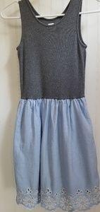 Gap Girls Cotton Eyelet Tank Dress